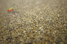 polymer - beton z barevného písku - detail
