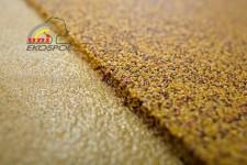 polymer - beton z barveného písku
